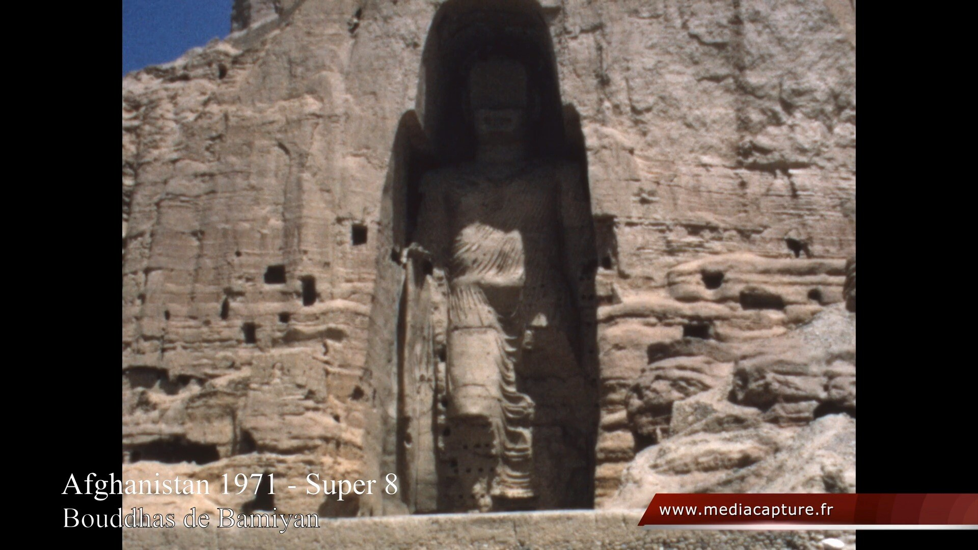 1971 Afghanistan - Vallee de Bamiyan - Bouddhas de Bamiyan